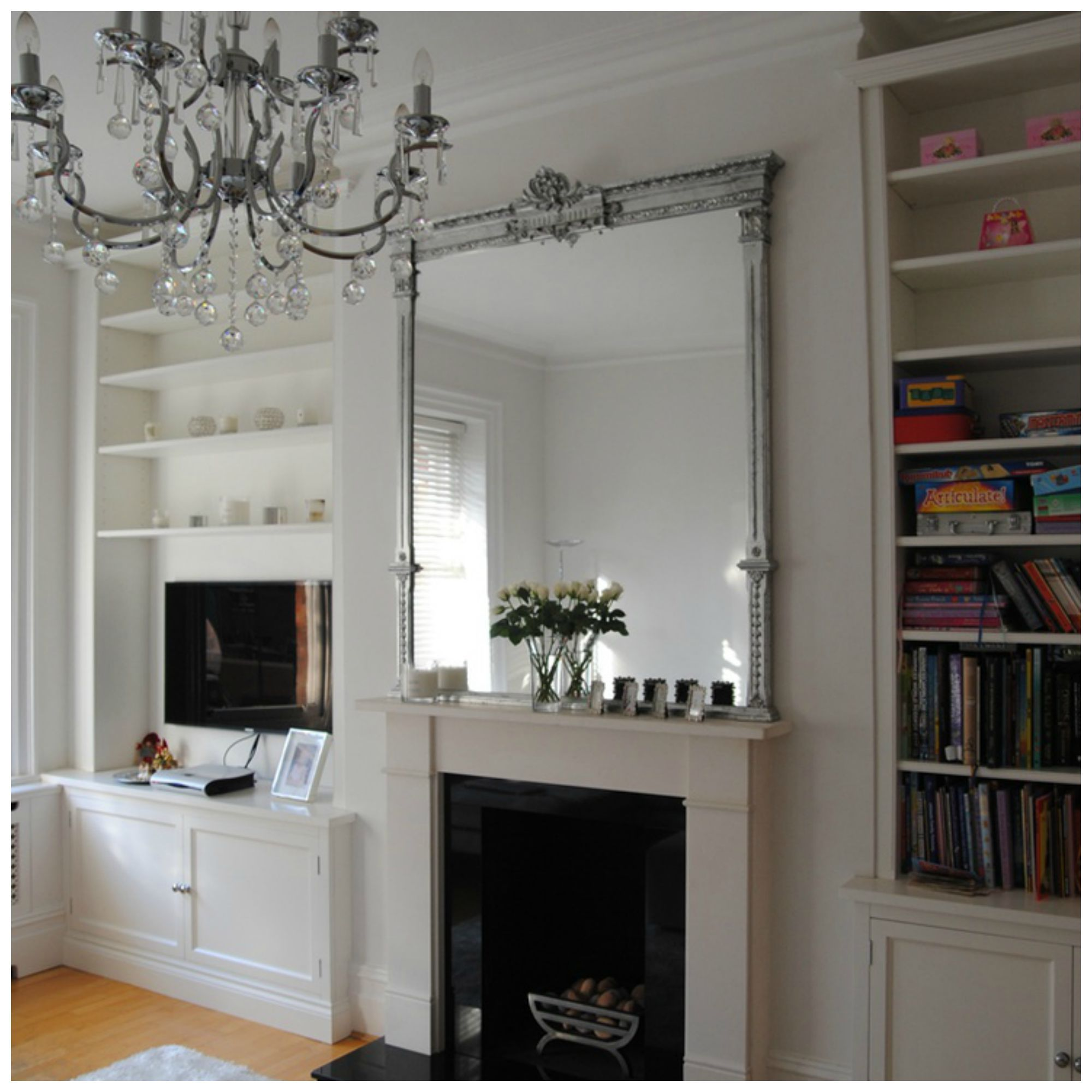 fire place and huge mirror interiors pinterest fire places