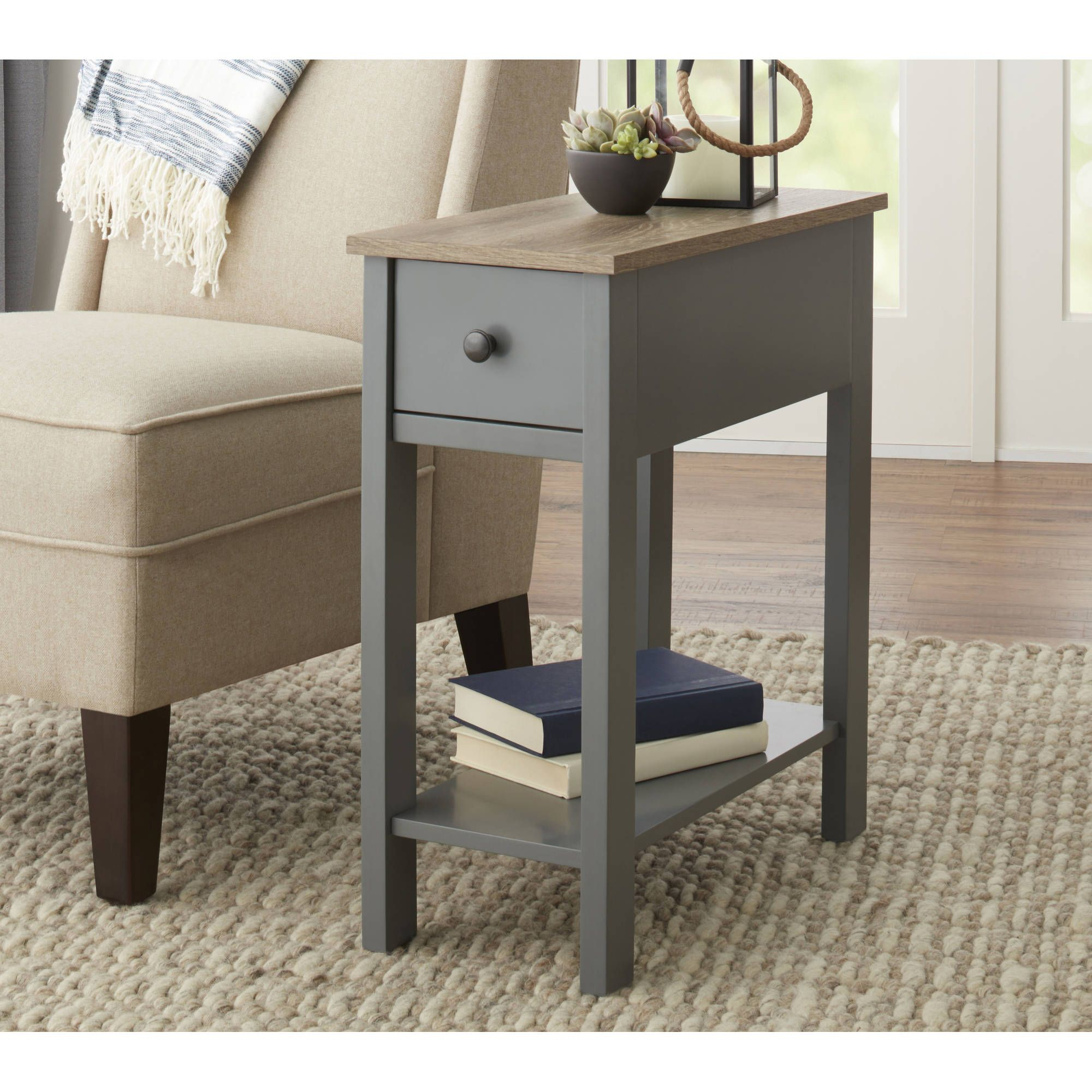 Home Solid wood coffee table, Farmhouse end tables, End