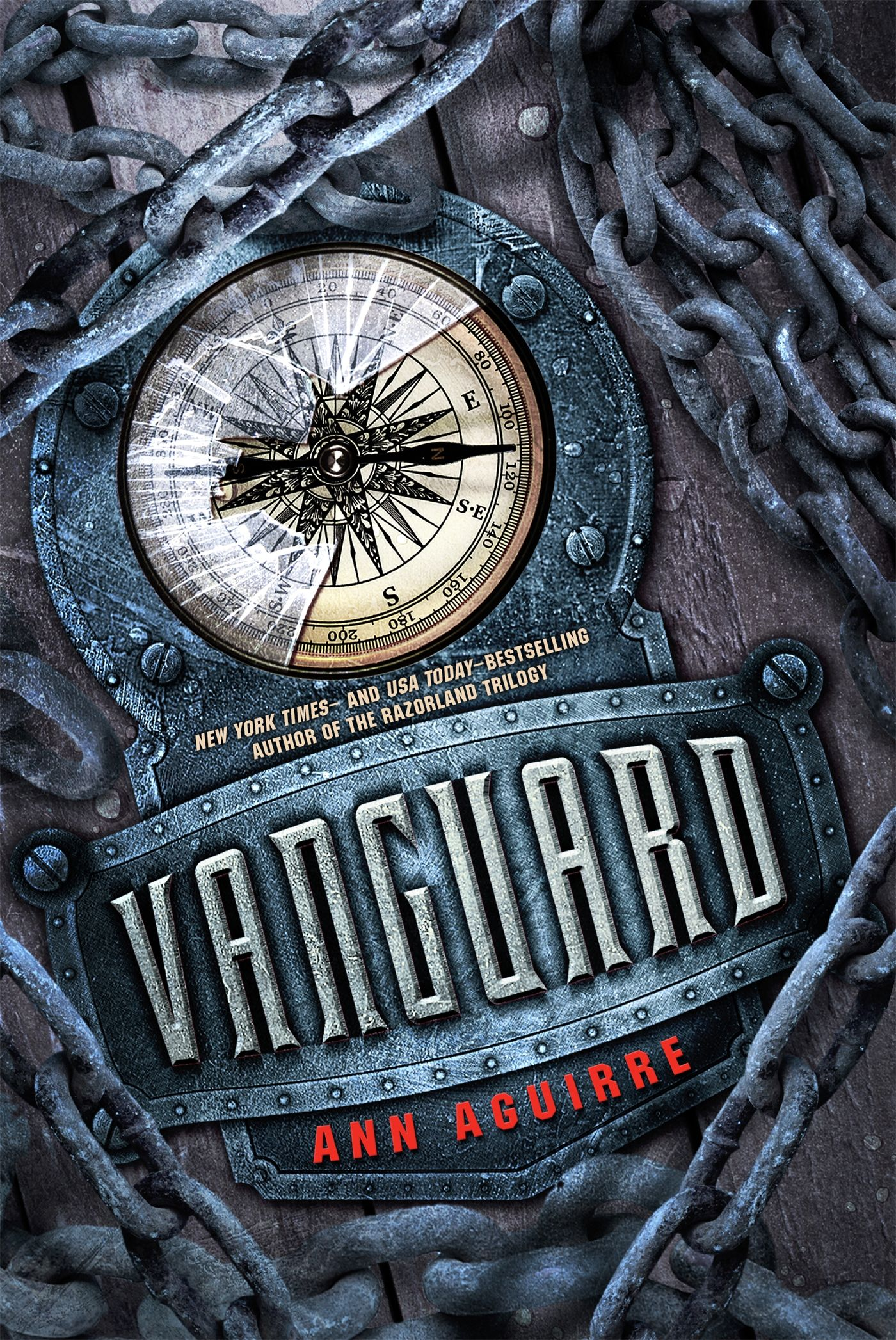 #CoverReveal Vanguard (Razorland, #4) by Ann Aguirre