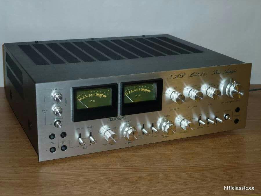 Nad model 200 | Hi Fidelity | Stereo amplifier, Audio, Hifi stereo