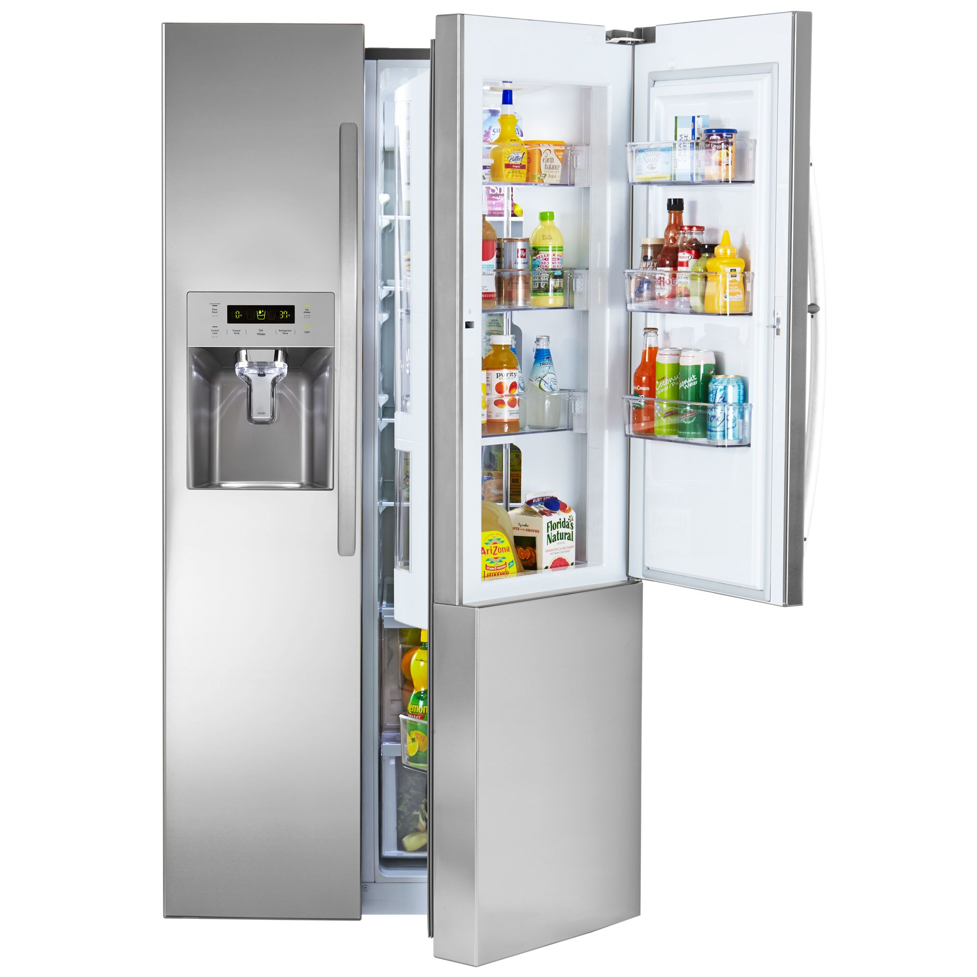 Kenmore 26 1 Side By Side Fridge W Grab N Go Fresh Accessible