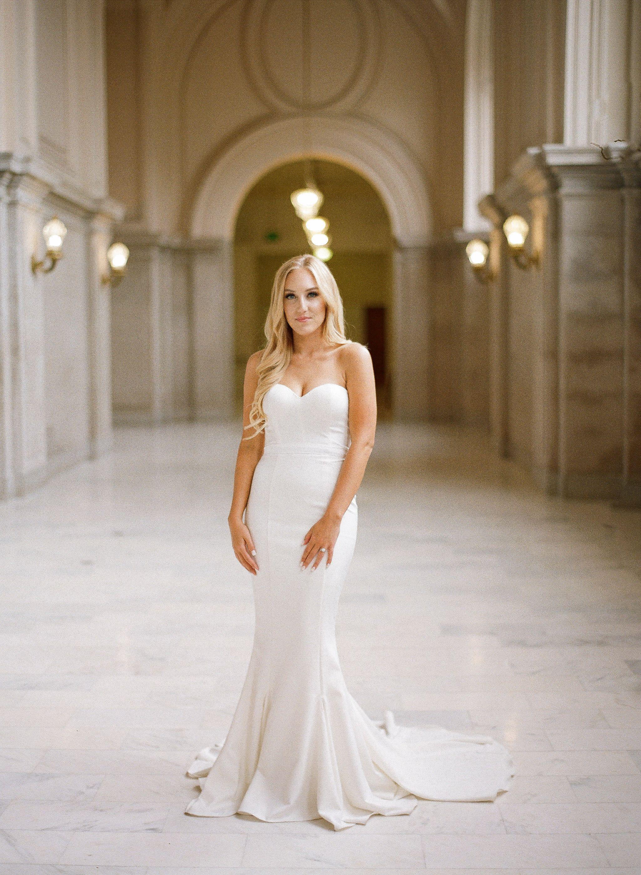 San Francisco City Hall Intimate Wedding Elle Zeitoune Arianna