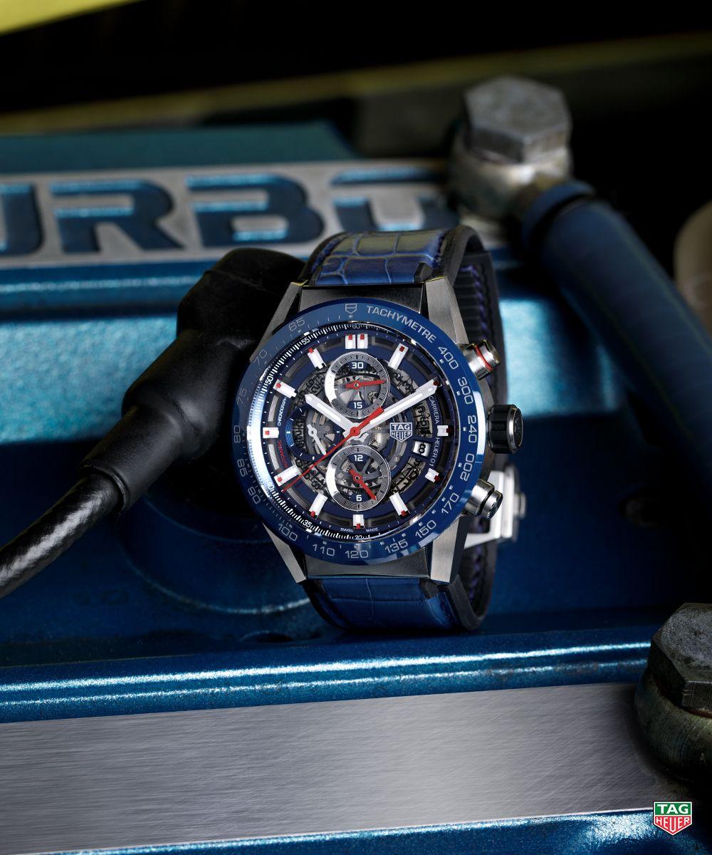 The TAG Heuer Carrera Calibre Heuer 01.  DontCrackUnderPressure   TAGHeuerCarrera  CalibreHeuer01  Blue 8c43bbe5df