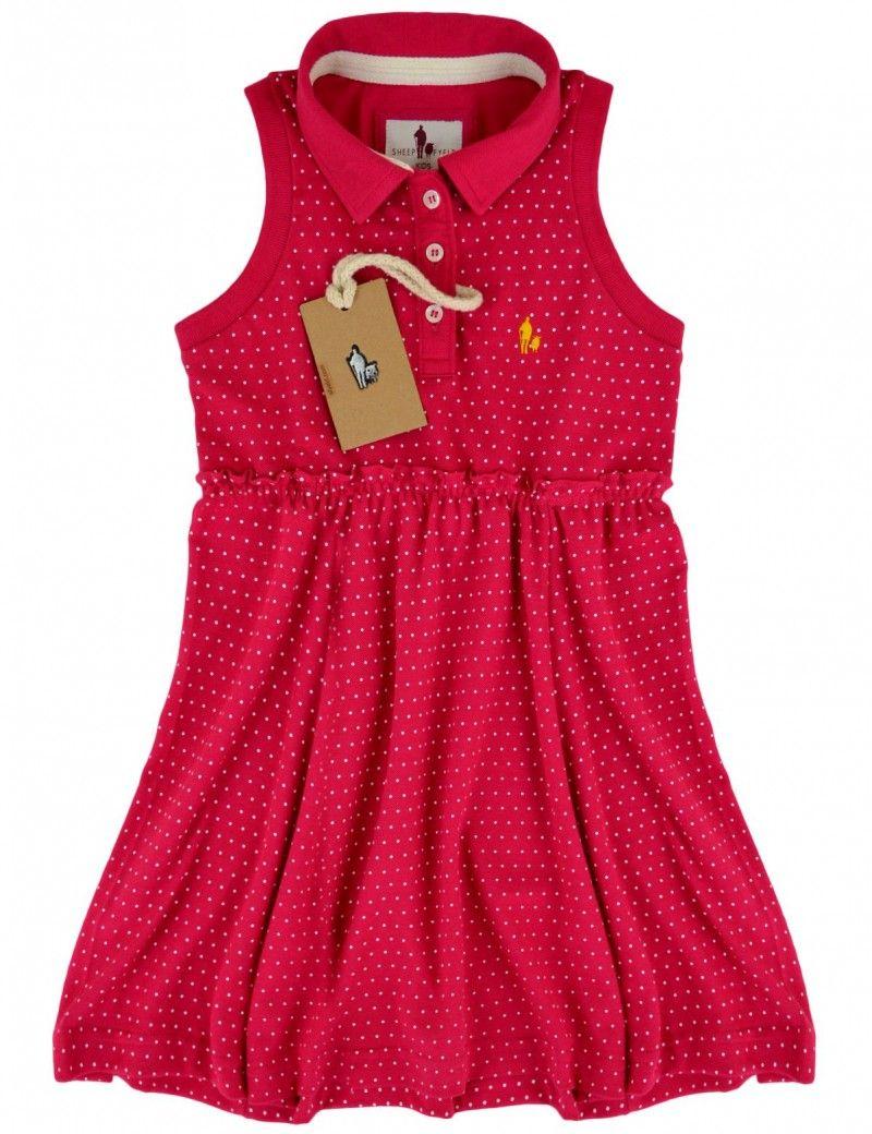 Vestido Polo POA Infantil  0702b54150eb9