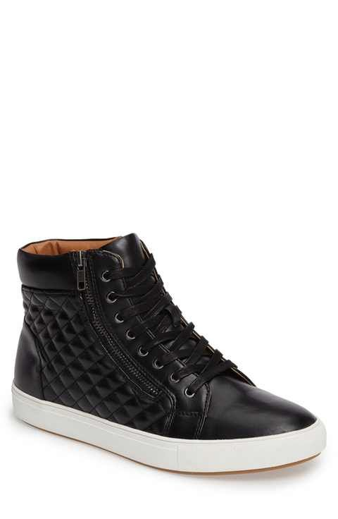 Steve Madden Quodis Quilted High Top Sneaker (Men)