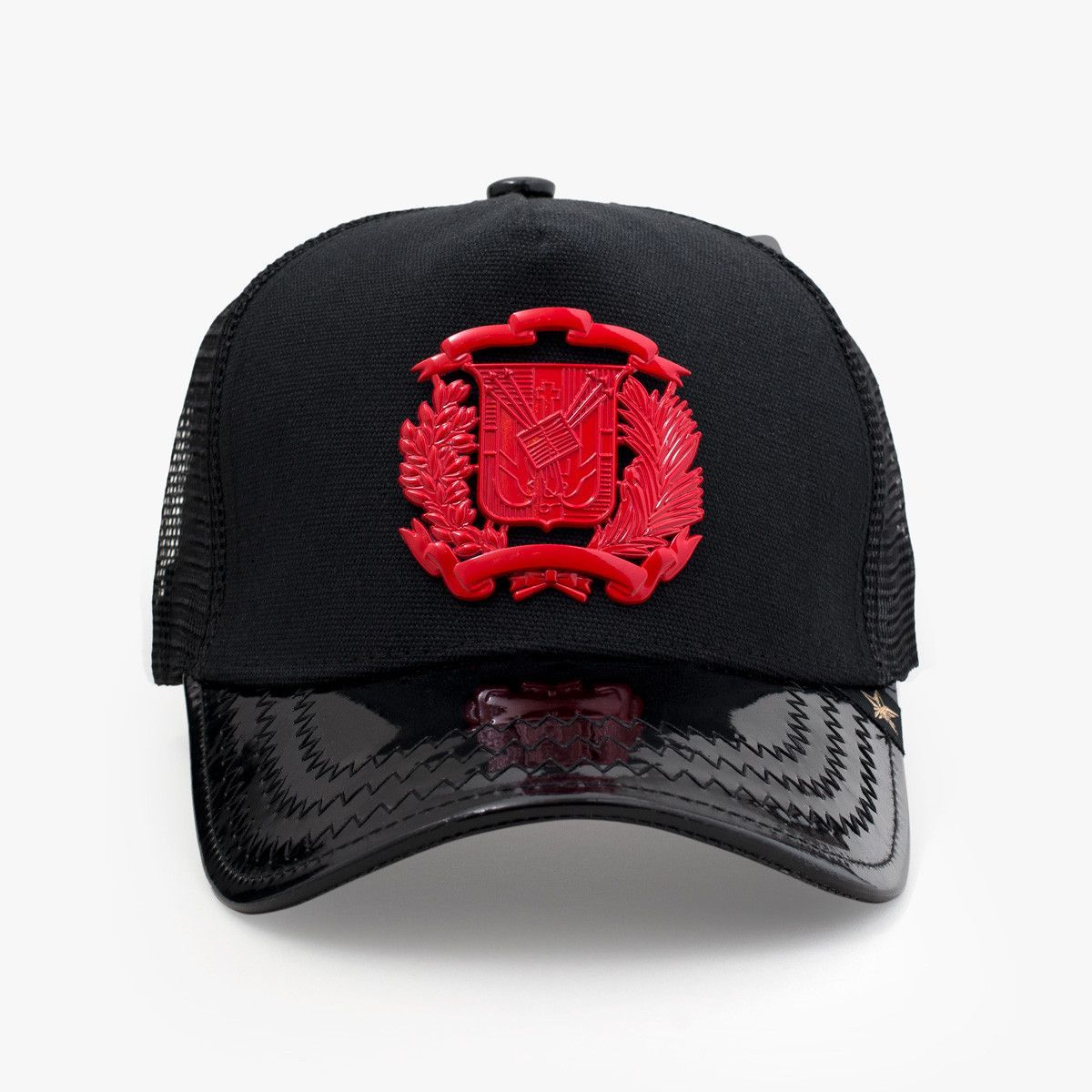 e3c66563bec Dr Shield Red Trucker Hat