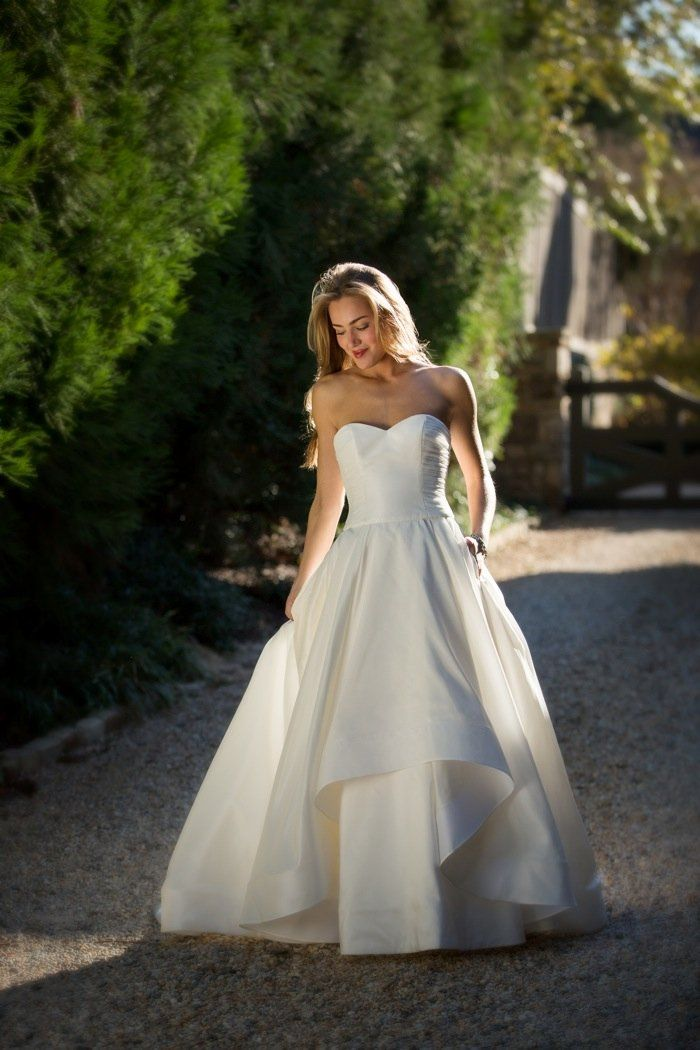Gown by Anne Barge