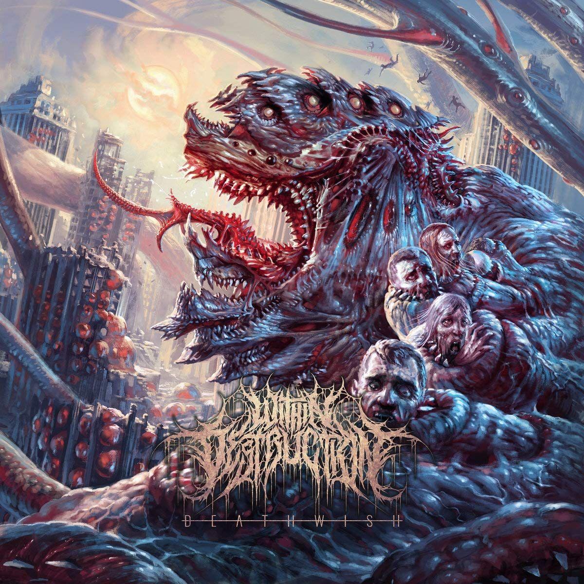 Deathwish Deathwish Metallkunstwerk Schwarzes Metall Metall