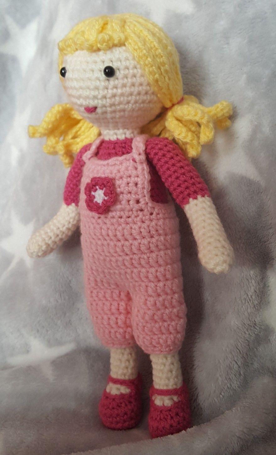 Puppe Gehäkelt Häkeln Spielzeug Mädchen Lalylala Amigurumi Kauf Mich