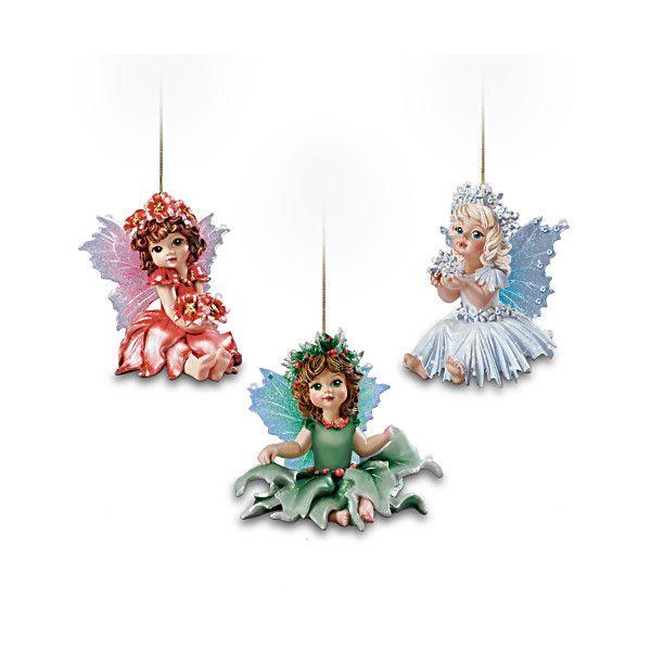 Fairy Magical Holidays Ornament Set One: Set Of Three ...
