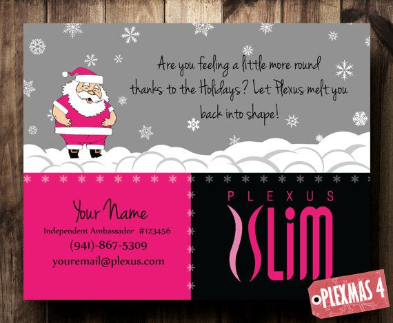 Christmas Card Plexus Slim Digital File by CelebrationCity on Etsy, $10.00. Check out our other designs.