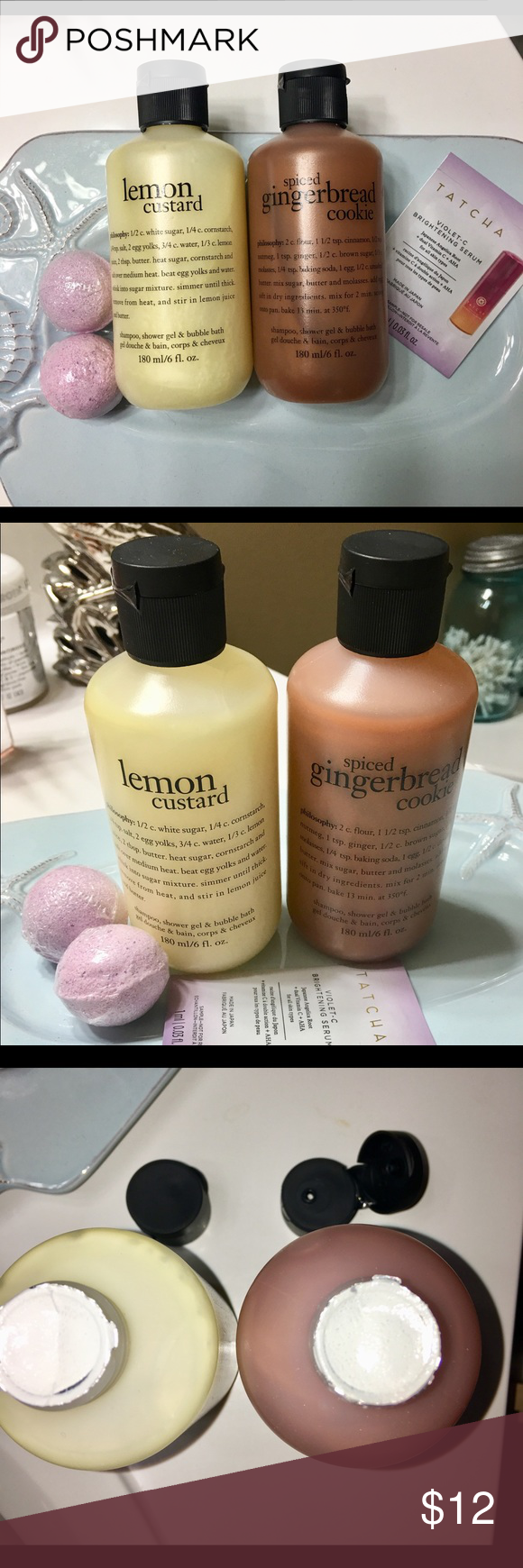 Philosophy Shampoo Body Wash Set Bath Bomb Bonus Shampoo Body Wash Body Wash Honey Body Wash