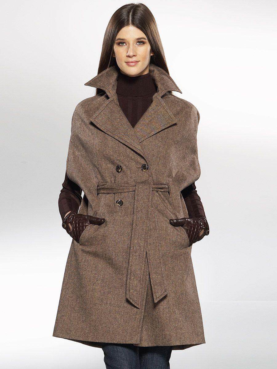 20d91e04477 Женское пальто из твида (56 фото)  с чем носить