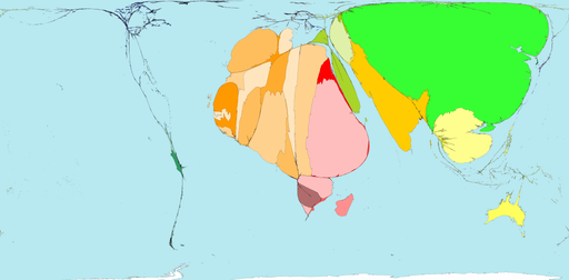 Affected by Insect Infestation - Worldmapper: The world as you've never seen it before