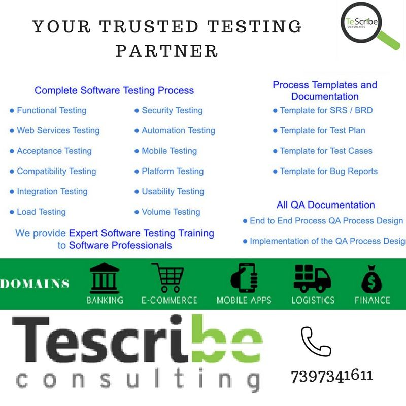 Trustedtestingpartner Testing Consulting Tescribe Consulting