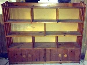 "chicago for sale / wanted ""large solid wood shelving"