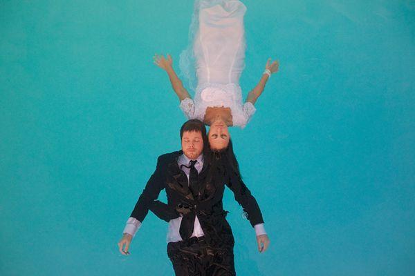 underwater engagement shoot!