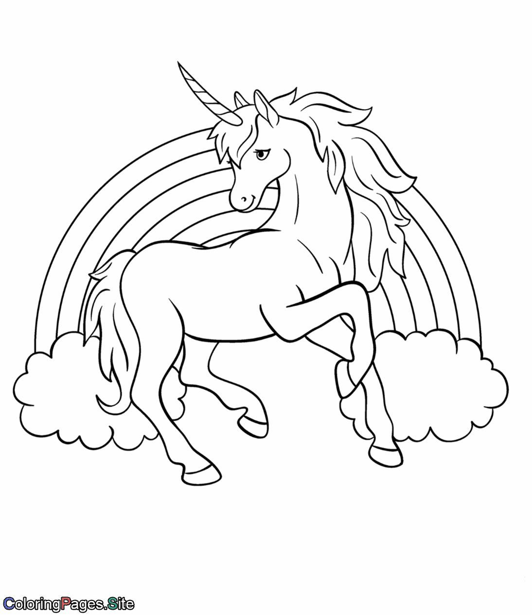 Fine Coloring Page Unicorn Rainbow That You Must Know You Re In
