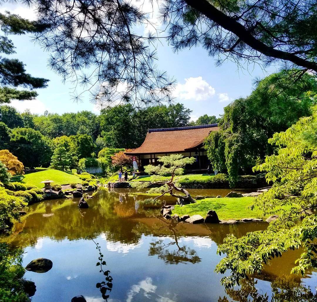 Japanese House and Garden. #philadelphia #shofuso #japaneseteahousegarden #wanderlust #instapic #instagood #travellinggram #traveller
