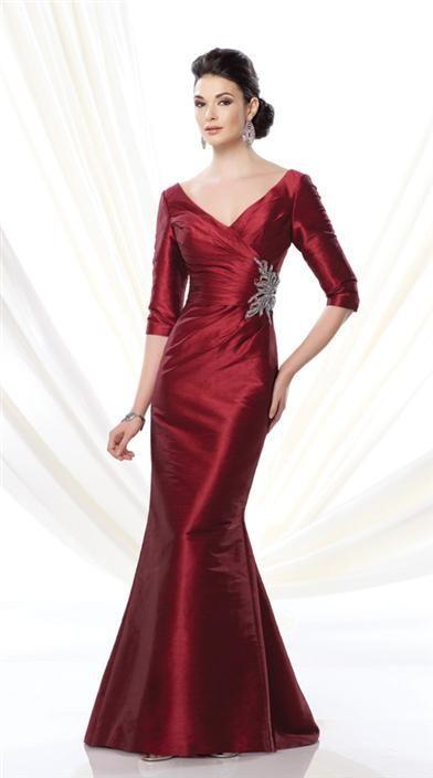 Garnet Evening Dress