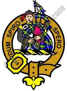 Dum, Spiro, Spero: While I breathe, I hope. Clan MacLennan