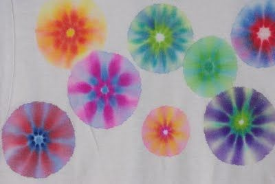 Sharpie pen tie-dye - here's the tutorial