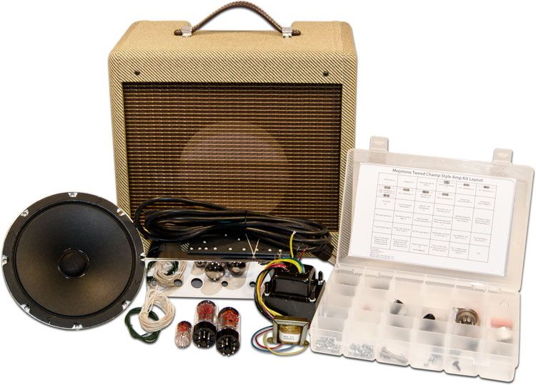 mojotone tweed champ style amplifier kit this would be an incredible project. Black Bedroom Furniture Sets. Home Design Ideas