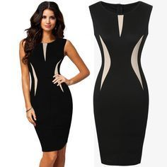 Womens Cool Beautiful Ladies Formal Party Pencil Dress Business Dress Prom Evening Dresses Dress Purchase From Gift_wholesale, $11.76| DHgate.Com