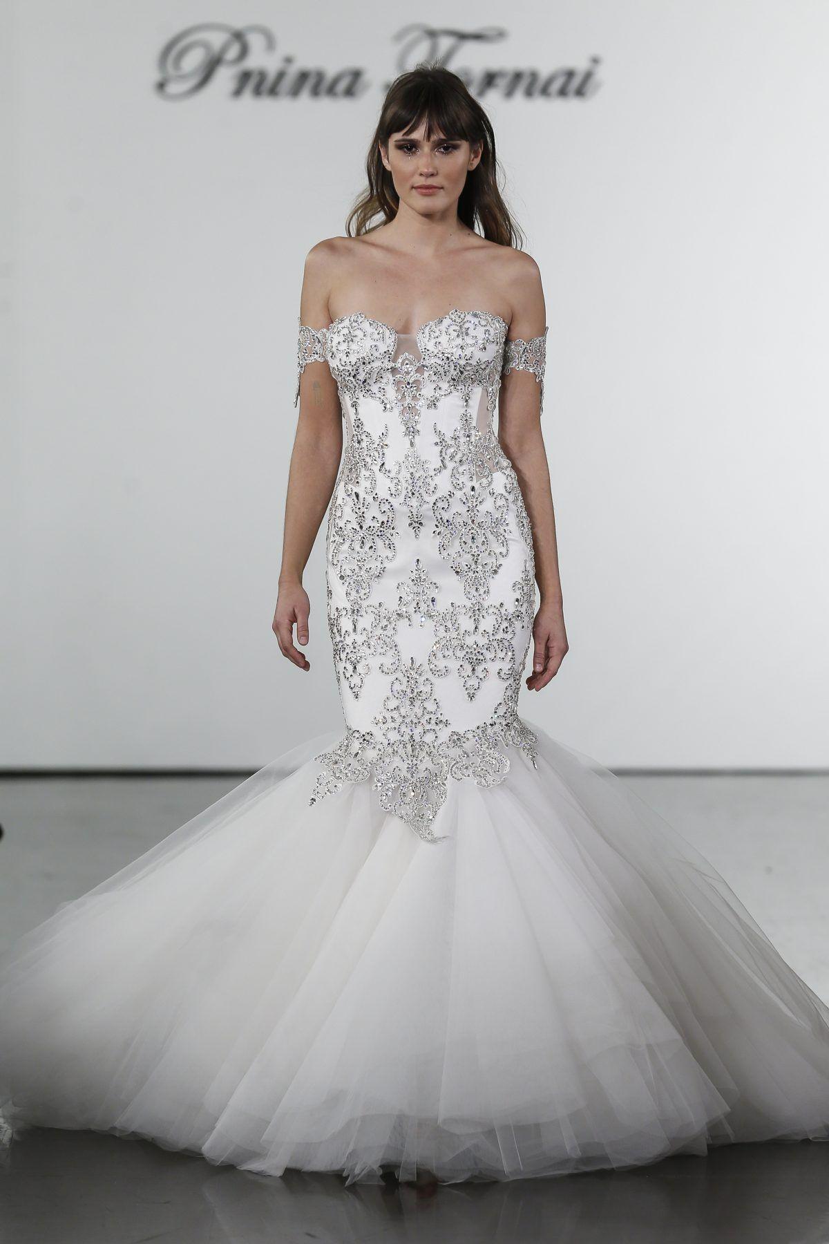 Embellished Sweetheart Mermaid Wedding Dress Pnina Tornai Style 4709 Expensive Wedding Dress Most Expensive Wedding Dress Pnina Tornai Wedding Dress [ 1800 x 1200 Pixel ]