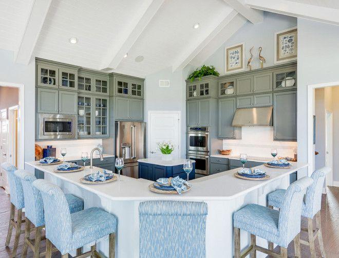 L-shaped island. L-shaped kitchen island. L-shaped kitchen island ...