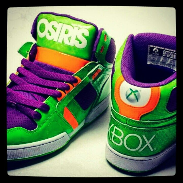 385b8f33ce7 Awesome Xbox360 Osiris Shoes. $480 on EBay. | Fashion | Shoes ...