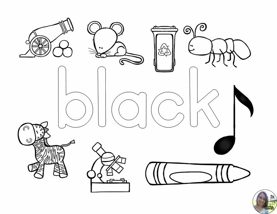 Learning About Colors Coloring Pages The Super Teacher