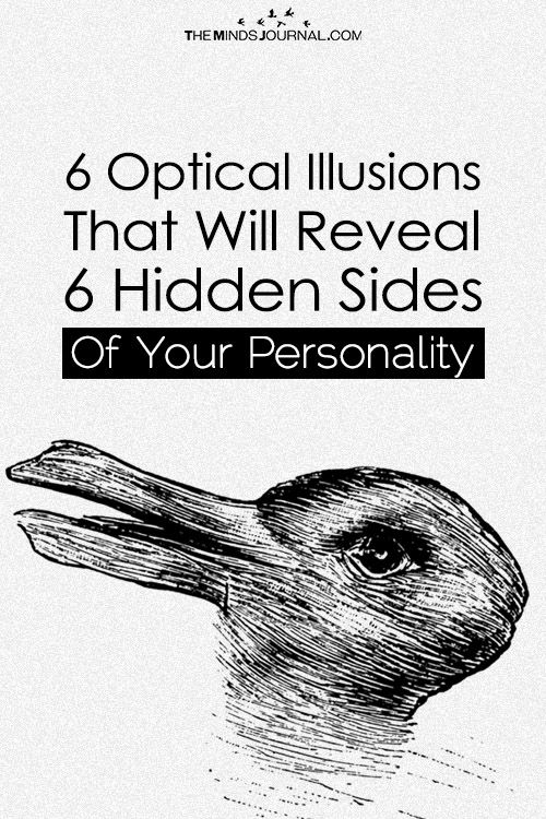 illusions optical personality hidden reveal sides these psychology test illusion quotes themindsjournal psych puzzles