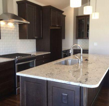 Kitchen Backsplash With Dark Cabinets Espresso Quartz Countertops