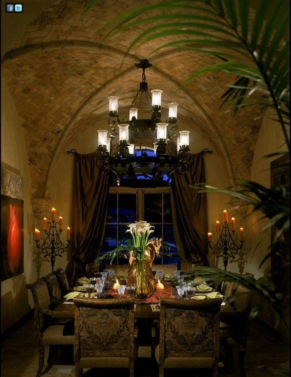 Tuscan style dining room \u003c3 \u003c3 home Pinterest Spanish design