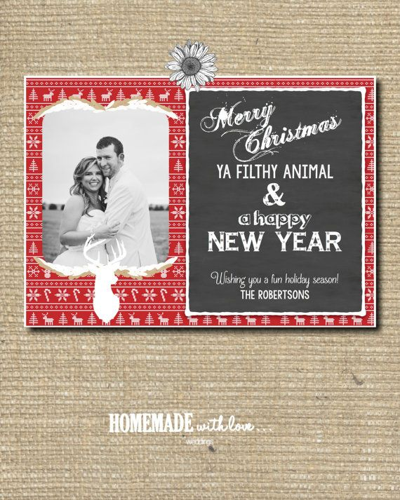 Merry Christmas Ya Filthy Animal Printable by ...