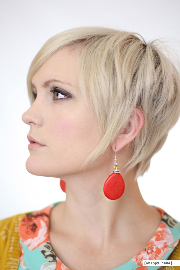 $16 - Red Drop earrings from whippycake.com