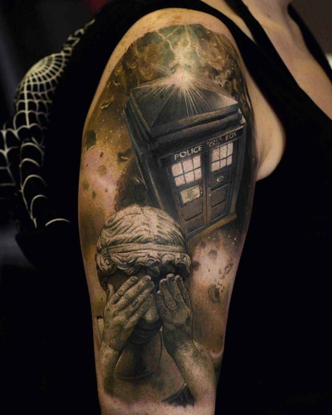 Doctor Who Tattoo By At Stefantattoos At