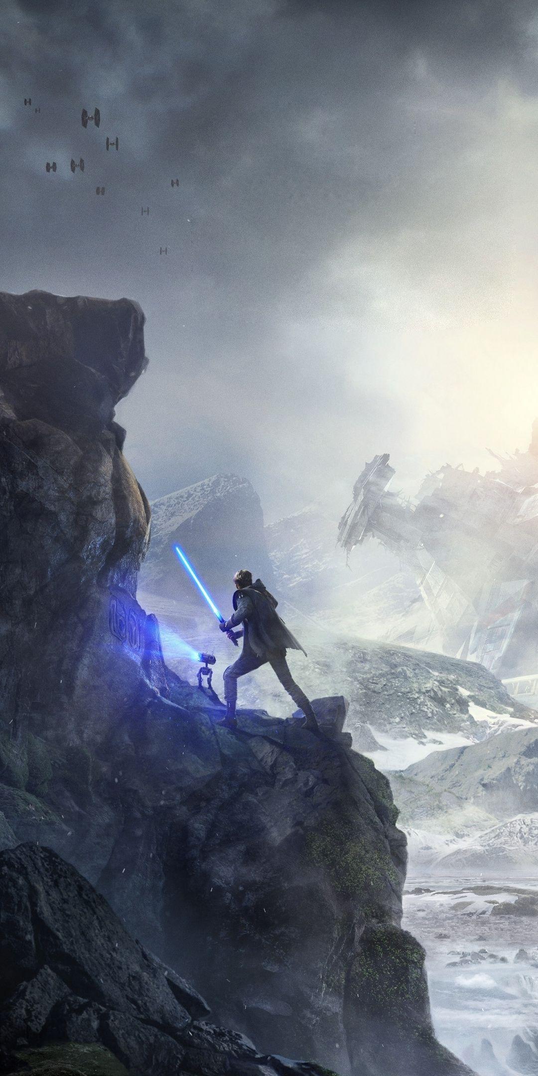 1080x2160 Star Wars Jedi Fallen Order, video game
