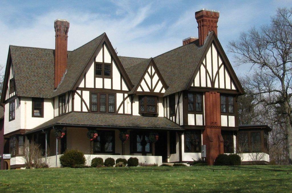 20 Tudor Style Homes To Swoon Over Tudor Style Homes Tudor House Tudor Exterior Paint