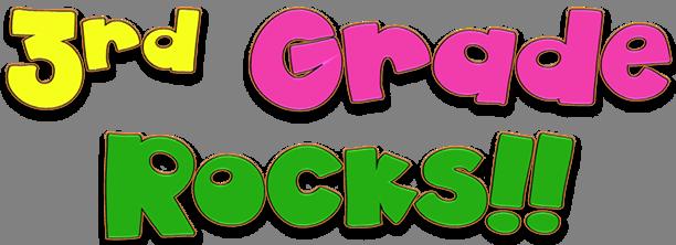 3rd Grade Rocks!   Classroom, School, Third grade