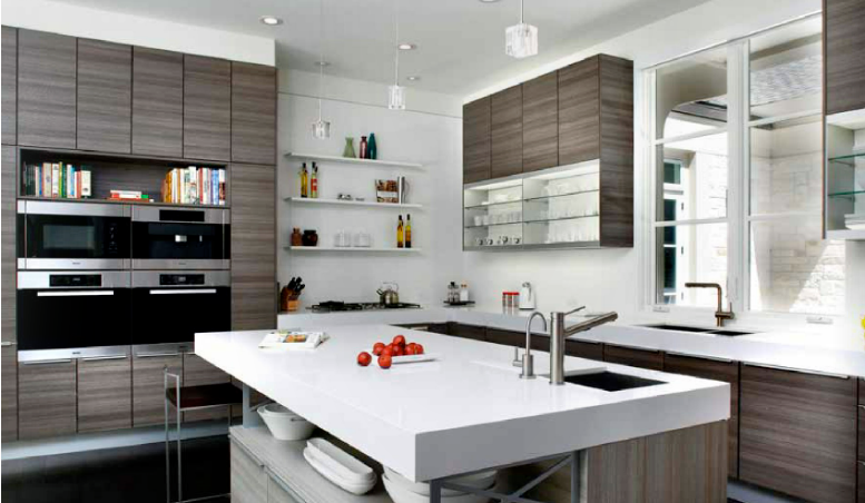 Contemporary Kitchen Designs 2014 this beautiful poggenpohl kitchen in teak quartz couldn't be more