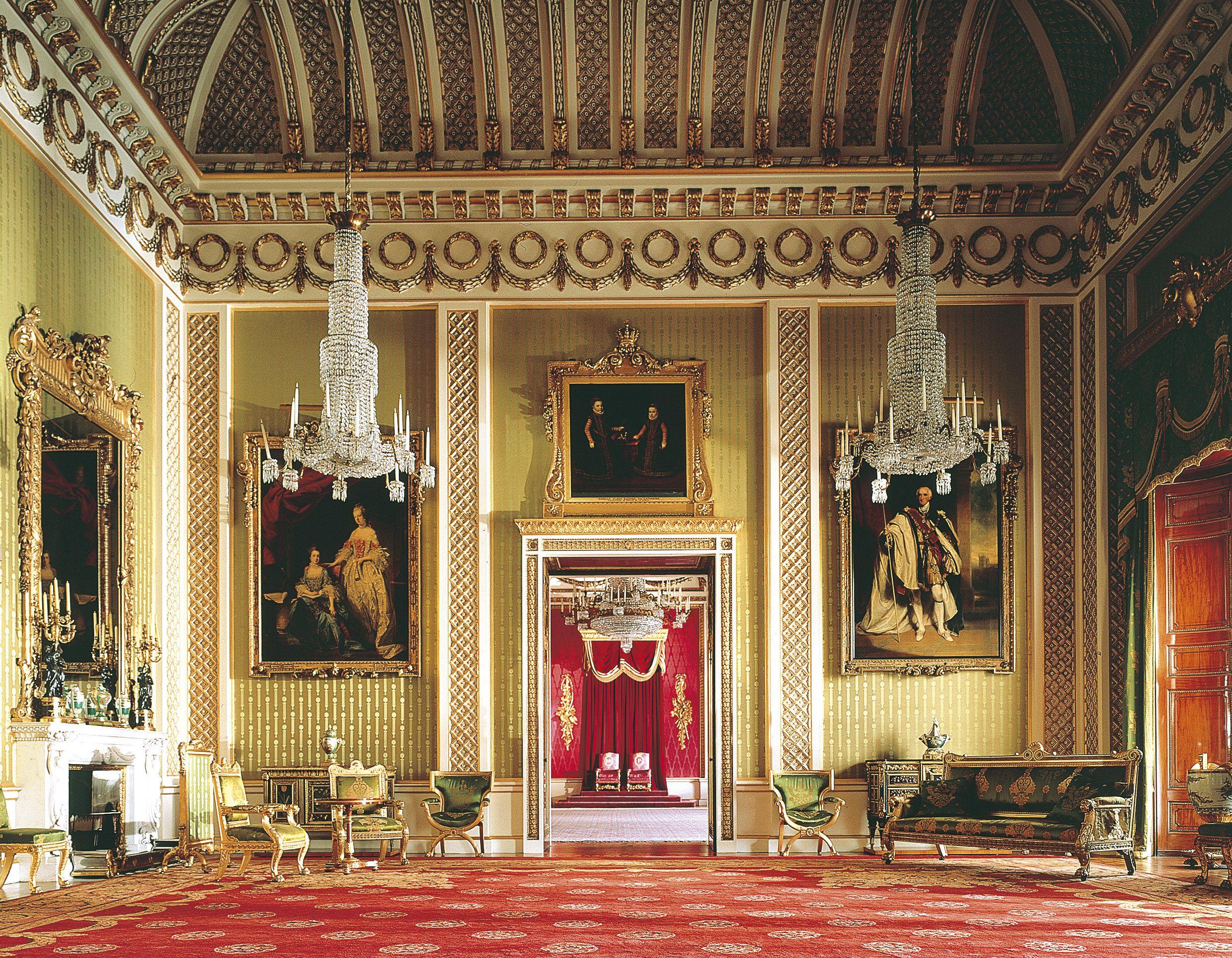 Buckingham Palace Interior | Castles | Pinterest