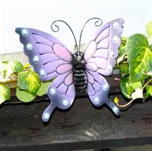 Large Metal Butterfly Yard Art Bing Images Tin Can Flowers
