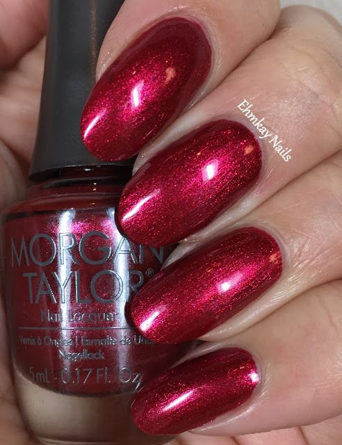 Morgan Taylor Wrapped in Glamour Holiday Gift Set, Swatches and ...