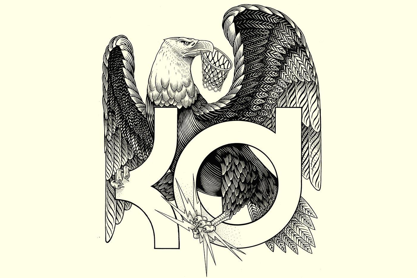 KEVIN DURANT NIKE eagle on Behance
