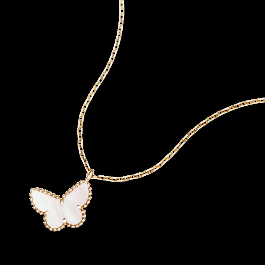 Van cleef arpels van cleef arpels sweet alhambra butterfly van cleef arpels van cleef arpels sweet alhambra butterfly pendant aloadofball Image collections