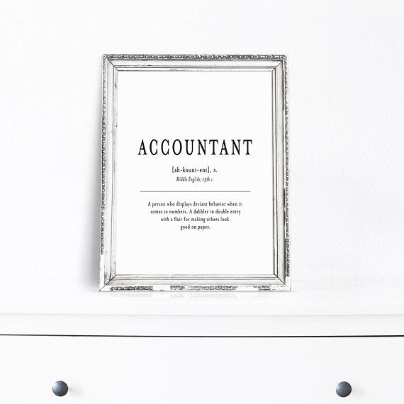 CPA Cubicle Decor, Accountant Gift, New Job Gift