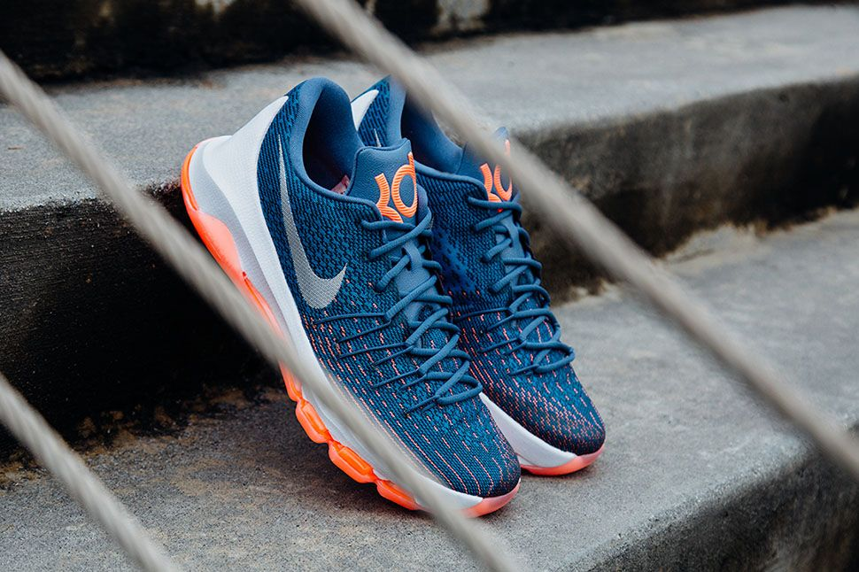 kd blue and white nike flyknit womens multicolor