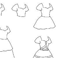 Dessin robe de princesse dessin pinterest dessin - Dessin de robe de princesse ...